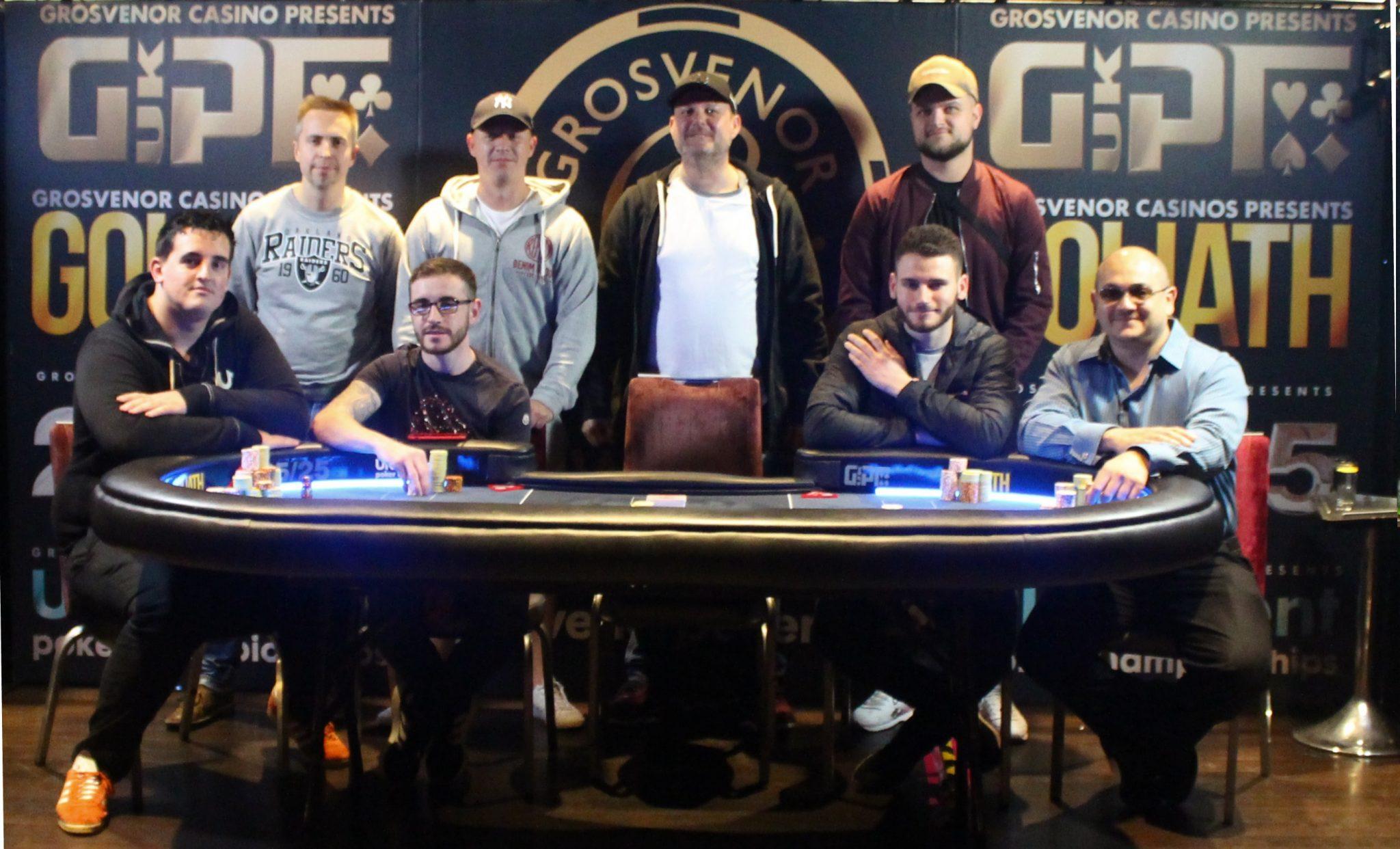 g casino blackpool poker schedule 2019